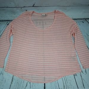 MUDD sweater, light weight,  size L, peach color
